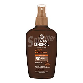 Ecran Aftersun Aceite protector zanahora FP 50 spray 200 ml