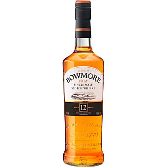 BOWMORE Islay Single Malt Whisky escocés 12 años Botella 70 cl