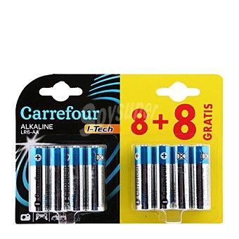 Carrefour 8 Pilas HI tech LR06 8 ud