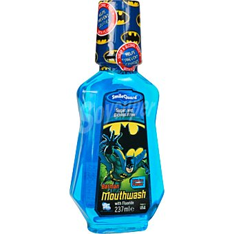 BATMAN Enjuague bucal infantil con fluor frasco 327 ml Frasco 327 ml