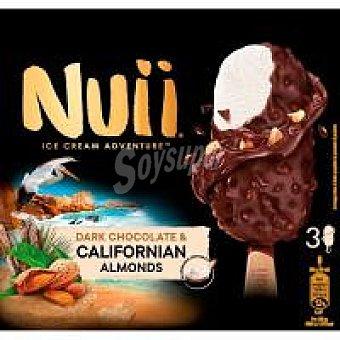 Nuii Bombón de nata-chocolate-almendras caja 198 g