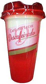 Gropper Café con leche descafeinado líquido Vaso de 250 ml