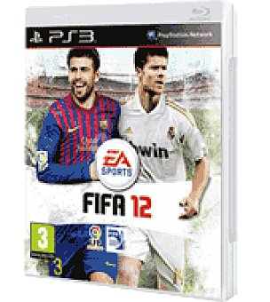 Electronic Arts Juego PS3 fifa 12 electronic arts