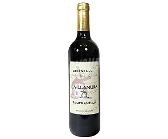 La Llanura Vino tinto crianza con denominación de origen La Mancha Botella de 75 cl