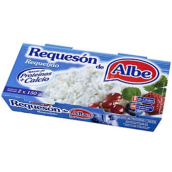 ALBE Requesón Pack 2 envase 150 g