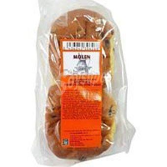 Molen Bollo de pasas Rozinjnebollen Paquete 230 g