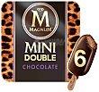 Bombón helado mini doble choco Caja 6 u x 60 ml (360 ml) Magnum Frigo