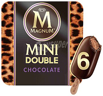 Magnum Frigo Double chocolate mini Caja 6 x 60 ml