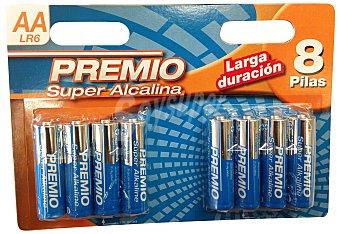 Premio Pila super alcalina aa LR06  Paquete 8 u