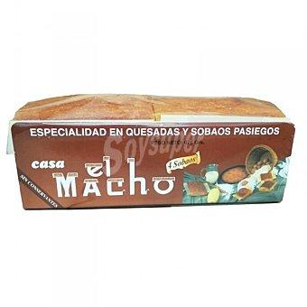 El Macho Sobaos grandes 4 unidades Paquete 675 g