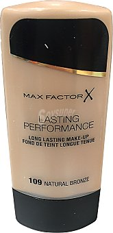 Max Factor Maquillaje lasting performance Nº 109 color bronceado natural 1 unidad