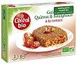 Hamburguesa vegetal Bio de quinoa y bulgur con tomate ecológica cereal BÍO 200 g Cereal Bio