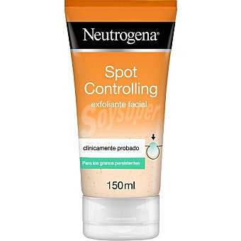 Neutrogena Visibly Clear Spot Proofing exfoliante diario Oil free con ácido Salicílico Tubo 150 ml