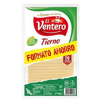 El Ventero Queso en lonchas tierno sin gluten 400 g