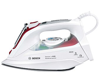 BOSCH Sensixx'x DI90 Plancha de vapor TDI902839W, suela ceraniumglissée, potencia 2800W