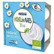 Tarrinas de leche fermentada bio Pack 4 x 90 g Naturnes Nestlé