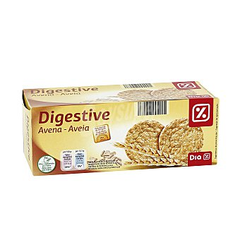 DIA Galletas tipo Digestive avena paquete 425 grs Paquete 425 grs