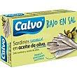 Sardinilla bajas en sal aceite 85g Calvo