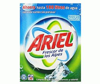 Ariel Detergente Frescor de Los Alpes 30d