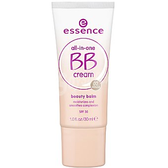 ESSENCE All In On BB cream hidratante nº 02 natural FP-30 tubo 30 ml Tubo 30 ml