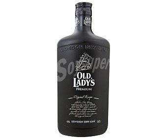 OLD LADY'S Ginebra premium de gran bretaña tipo London dry gin Botella de 70 centilitros