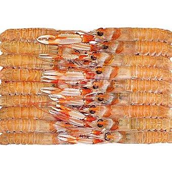 Costa Cigalas de 26-30 piezas/kg (peso aproximado ) Unidad 35g