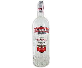 LITHUANIAN Vodka importado de Lituania Botella de 1 litro