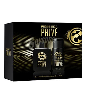Pachá Ibiza Estuche colonia Privé spray 100 ml. + desodorante 150 ml. 1 ud