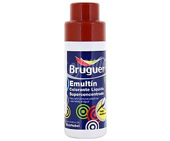 Bruguer Colorante Líquido Superconcentrado Emultin, Color Marrón Rojizo Almagre 0,5L