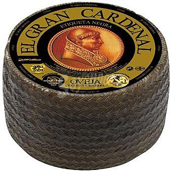 EL GRAN CARDENAL Queso de oveja curado en madera 6 meses  3 kg (peso aproximado pieza)