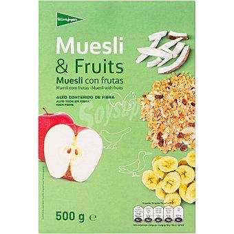 Aliada Muesli tradicional con frutas Paquete 500 g