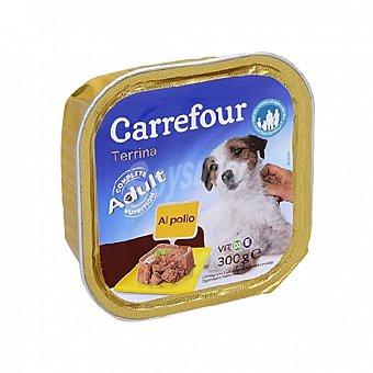 Carrefour Comida Húmeda para Perros Adulto de Pollo 300g 300 gr
