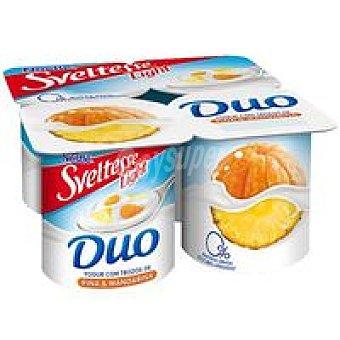 Nestlé Sveltesse Duo de piña-mandarina pack-4 x 125g