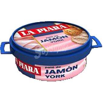 La Piara Paté de jamón york Lata 77 g