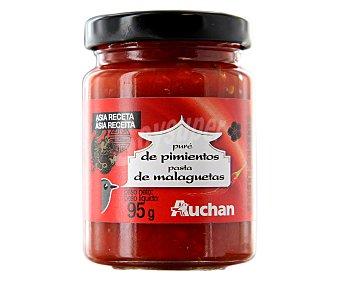 Auchan Puré de pimiento picante 95 gramos