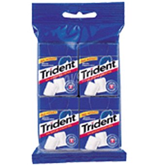 Trident Chicles menta 4 UNI