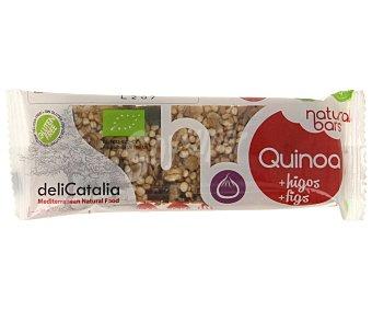 Delicatalia Barrita ecológica de cereales y higos 40 gramos
