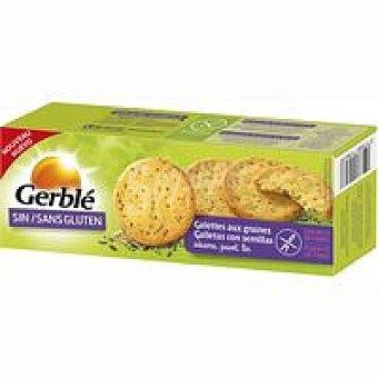 Gerblé Galleta con 3 semillas sin gluten Caja 120 g