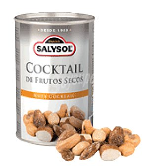 SalySol Cocktail de frutos secos linea grande 130 g