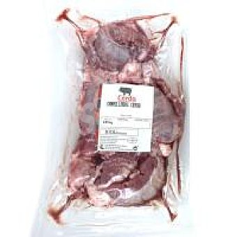 Carrilleras de cerdo sin hueso 500 g