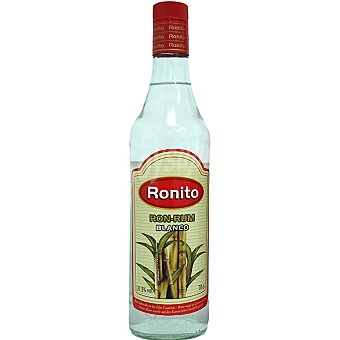 RONITO ron blanco Botella 70 cl