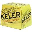 Cerveza 12 botellines de 25 cl Keler