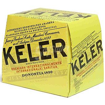 Keler Cerveza 12 botellines de 25 cl