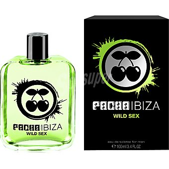 PACHA IBIZA Wild Sex eau de toilette masculina Spray 100 ml
