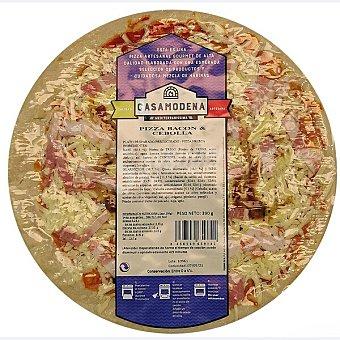 Casa modena Pizza de bacon y cebolla Envase 345 g