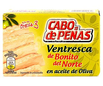 Cabo de Peñas Ventresca de bonito del norte en aceite de oliva 72,5 gramos