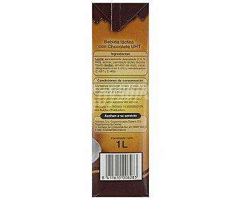 Auchan Chocolate a la taza, listo para tomar, brick 1 litro