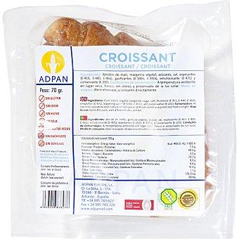 Adpan Croissants sin gluten envase 70 g 2 unidades