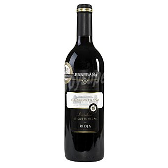 BERBERANA DAVALOS Vino tinto DO Rioja botella 75 cl Botella 75 cl
