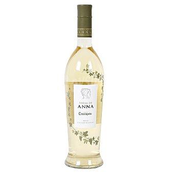 VIÑAS DE ANNA Vino blanco con denominación de origen Catalunya Botella de 75 cl